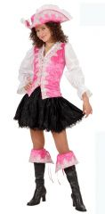 Pink Regal Pirate Costume